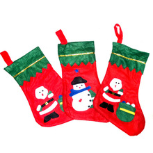 high quality New Hot sale!!! Christamas Socking for Christmas Gift Packing Decoration Tree Ornament Christmas gift