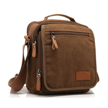 2016 New Men Canvas Bag Vintage Messenger  Bag Brand Business Handbags Casual Travel Shoulder Bag Men Crossbody Bag Male Bolsa