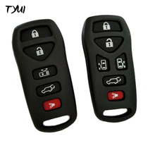 Car Remote Control Keyless Fobs Shells Replacements For Nissan Key