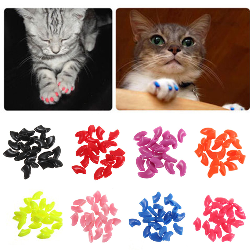 Hot Sale Real 10bags/lot Soft Pet For Dogs Paws Grooming Nail Claw ...