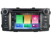 FOR TOYOTA HILUX 2012 Android 6.0 Car DVD player Octa-Core(8Core) 2G RAM 1080P 32GB ROM WIFI gps head device unit stereo