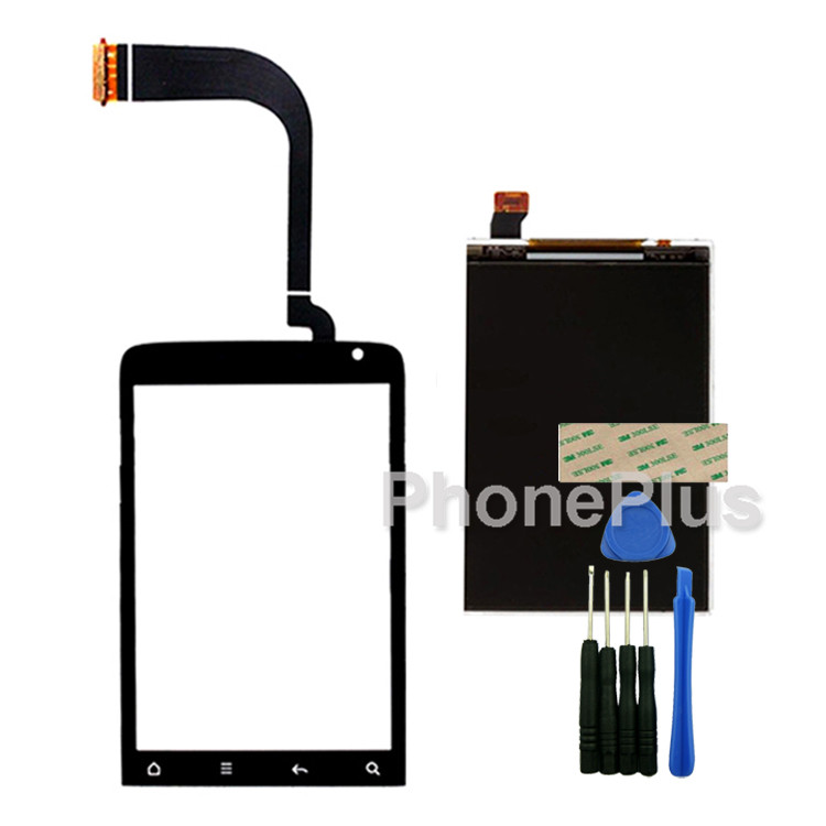 Touch Screen Glass Digitizer+LCD Screen Display Screen Adhesive Replacement Repair Part For HTC G15 Salsa<br><br>Aliexpress