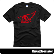 Perspective distortion Aerosmith Logo Toys in the Attic Greatest Hits couple clothes man cotton short-sleeve T-shirt(China)