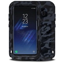 Aluminum Extreme Shockproof Weather Dust/Dirt Proof Resistant Case With Military Heavy Duty Case For Samsung Galaxy S8 Plus