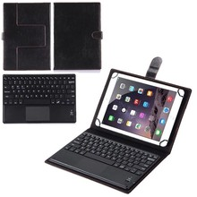 HISTERS Keyboard Suitable for Acer Iconia One 10 S1003 S1002 10.1 inch Wireless Bluetooth Touchpad Keyboard Leather Case