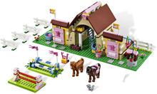 Friends 10163 Heartlake Stables Girls Mia's Farm Building Blocks 400pcs/set Bricks toys educational toys Gifts(China)