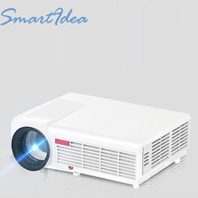 SmartIdea 5500lumens Full HD LED 3D Home Cinema Projector 1280x800 1080P LCD Digital Video HDMI Proyector TV Beamer