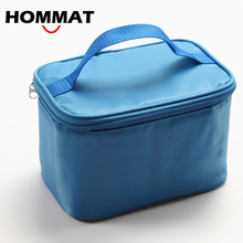 3 Colors Thermal Insulated Lunch Bag for Kids School Lunch Boxs Carry Tote Bag Picnic Cooler Bag Cotton Bolsa Termica(China)
