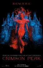 Free shipping Crimson Peak (2015) Vintage movie poster 24x36 inch 02(China)