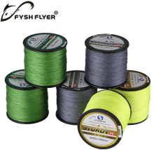 300M Brand Superpower 4 Strands Strong Japan Multifilament 100%PE Braided Fishing Line 8,10, 20,30,40,60 LB Precision length 300