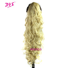 Deyngs Kinky Curly Ponytail For Women 30inch 220g Long Tress Claw In Pony Tail Hair Extension Natural Synthetic False Hairpiece