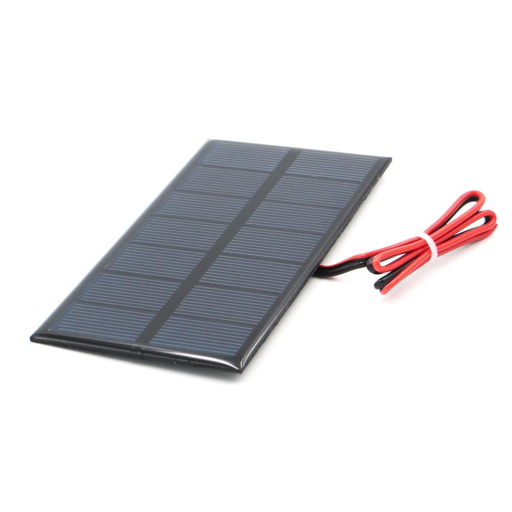 Aoshike 3W 9V Polycrystalline Solar Panel 125*195mm Sunpower Solar Cell Battery Module Polycrystalline DIY Solar Power System 3
