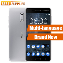 Original Brand New Nokia 6 Android 7.0 4GB RAM 32GB/64GB ROM Octa Core 16.0 MP Fingerprint Dual SIM 5.5'' 4G LTE  Smartphone