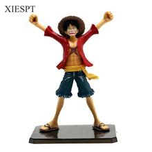 "XIESPT 6"" One Piece Luffy After 2 Years THE NEW WORLD PVC Action Figure Collection Model Toy without Original box Free Shipping"