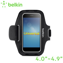 "Belkin Original Universal Armband Hand-washable Case for 4""-4.9"" for iPhone 8 7 6s for Smartphone with Retail Packaging F8M984(China)"