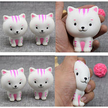 8.5CM Squishies Stretch Rare Kawaii Cute Little Milk Cat Bread Slow Rising Toy Kids Adult Relief Stress Support Drop Shipping
