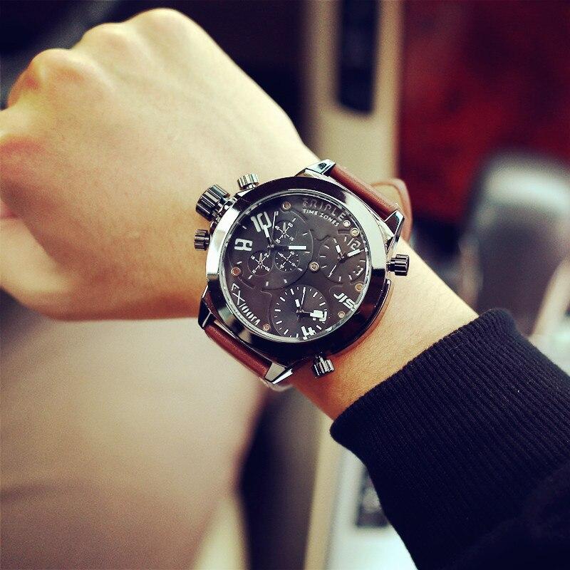 2017 brand Mens Luxury Analog Quartz Wristband Watch Luxury Dress Watch Sport military Watches<br><br>Aliexpress