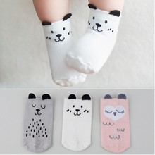 Hot sale cotton newborn Baby Socks  2016 Spring Floor Children's Socks for Newborns calcetines bebe Ankle Sock