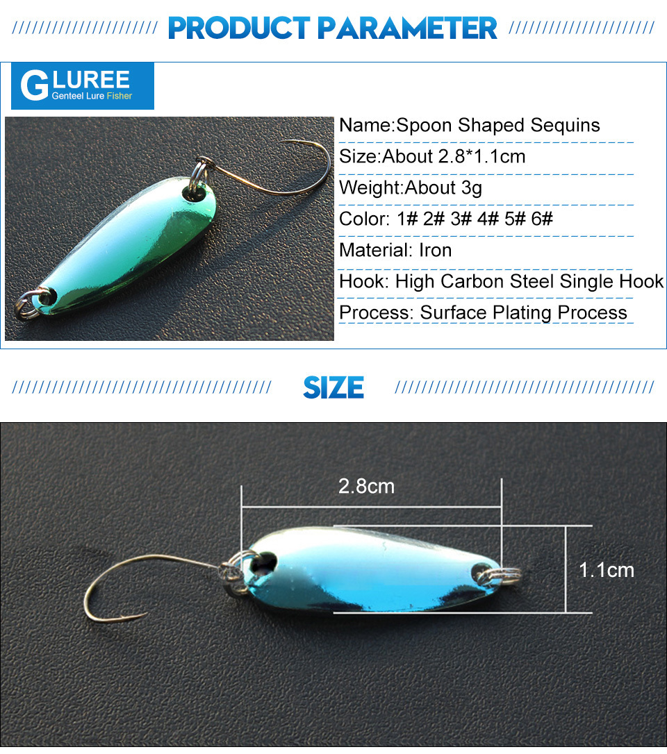 GLUREE-6Pcs-3g-Metal-Spoon-Sequins-Fishing-Lures-Hard-Iron-Paillette-Fake-Baits-Single-Hook-Artificial-Bait-Tackle-Multicolor_03