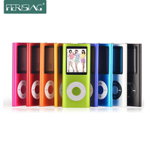 "MP4 Music Movie Player 4th 1.8"" LCD Screen Micro TF/SD Card Slot Picture browser FM radio video player + USB Cable + 2GB SD Card"