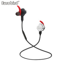Bluetooth4.1 HiFi Stereo Heavy Bass DSP Noise Reduction Magnet Sport Earphone with Microphone,Support Skype WhatsApp Take Photo