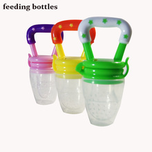 Baby Nipple Fresh Food Milk feeding bottles  Nibbler Learn Feeding Drinking Water Straw Handle feeding bottle feeding tool