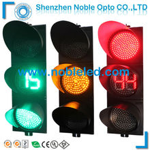 200mm Solar Traffic Warning Red & Yellow & Green Light(China)