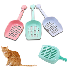 Portable Cat Litter Shovel Pet Cleanning Plastic Scoop Cat Sand Cleaning Products For Pet Cat Dog #261561(China)