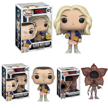 Stranger things Action Figures PVC Little Eleven With Eggos Gift For Boy Kids Child Adults Birthday With Box In Stock(China)