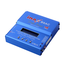 Build-Power 80W IMAX B6AC RC Balance Battery Charger Lipo/Li-ion/LiFe/NiMh Battery Balance Charger Discharger with LCD Screen(China)