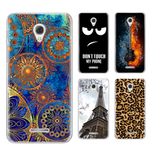 Films For Alcatel One Touch POP 4 Plus Case Cover Soft TPU Colored Painting Protective Phone Back Alcatel POP 4 Plus Case Cover