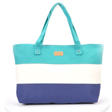 Time-limited 2017 New Messenger Bag Beach Handbag Bags Brand Totes Women Ladies Stripes Canvas Shoulder Bag Top Quality N508