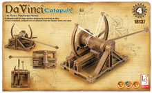 Scale 1/N Academy 18137 Da Vinci Machines Series Classic original Catapult Plastic Model Kit