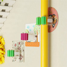 Multi Using Plastic Cartoon Mop Holder Hook Clip Wall Mounted Kitchen Bathroom Suction Cup Rag Broom Mop Storage Rack Holder