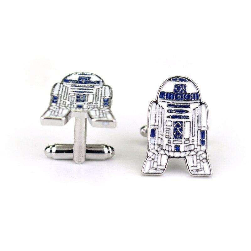 Halcón Milenario Star Wars 3D plata plateado broche pin no Gemelos Pistola Negro