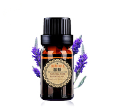 Lavender essential oil 10ml for fragrance lamp humidifier spice aromatherapy help sleep acne treament Spa massage oil skin care