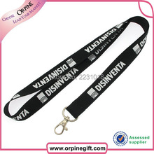 Wholesale low price custom silk-screen printing lanyard