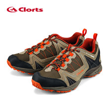 Clorts Men Trekking Shoes 2016 Waterproof Breathable Outdoor Shoes Non-slip Hiking Boots Sport Sneakers 3D028