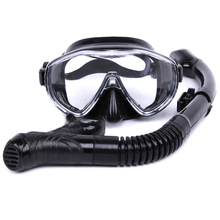 The New Safety Sports Glasses Of Water Training Dives Diving Snorkeling Equipment Silicone Diving Mask Anti-fog Sea Snorkeling(China)