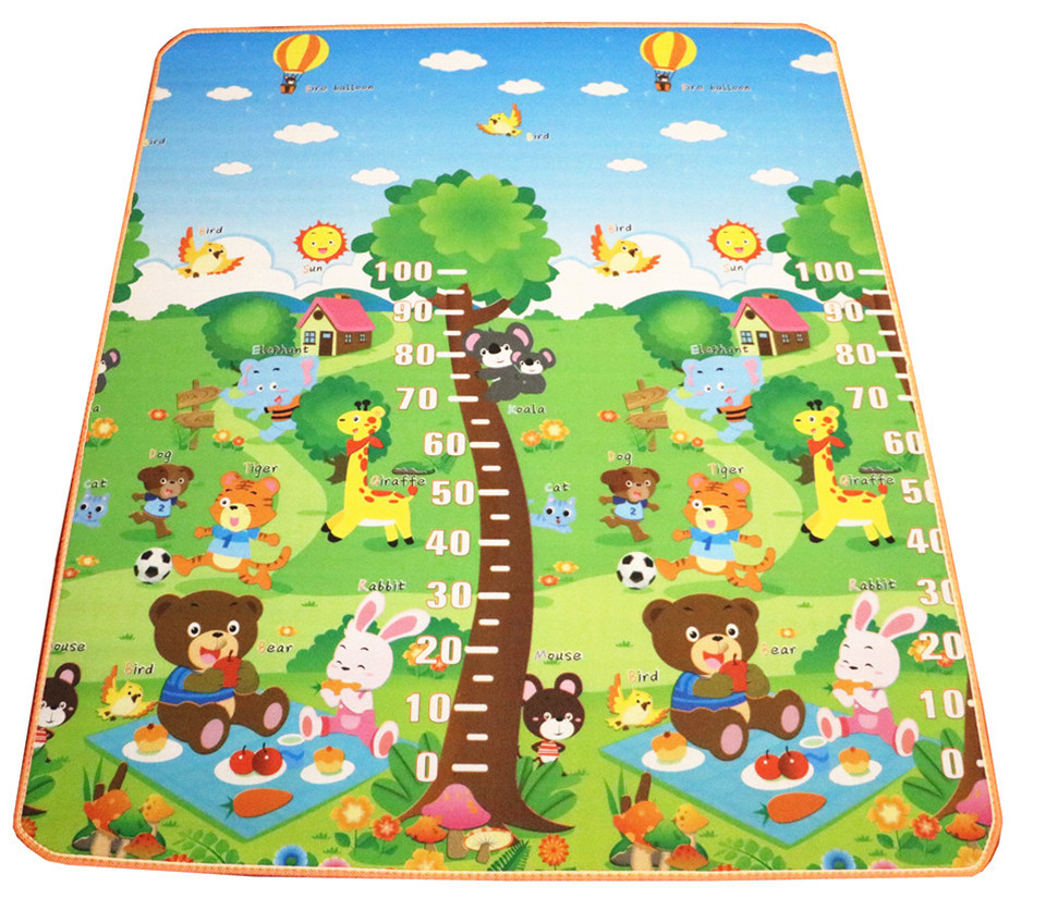 10 mm Thick Double Sides Children Play Mat Waterproof Kids Beach Picnic Mat Soft Eva Foam Carpet Rug Baby Crawling Mat Baby Toy 46