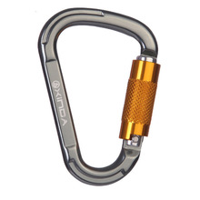 P152 Outdoor Security Main Lock Mountaineering Climbing Main Lock Quick Mount D Type Master Lock Equipments CE Certification