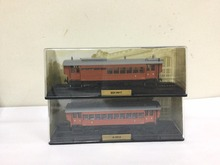 ATLAS TRAIN MODEL 2PCS 1/87 L'AUTOMOTRICE DE LA BANLIEUE OUEST BDF-9011 & B-9014(China)