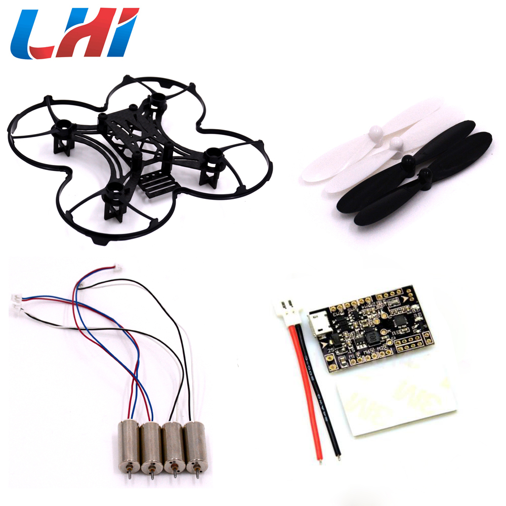 RC plane 90mm Micro FPV Racing Quadcopter Spare Parts Carbon Fiber DIY Frame Kit &amp;F3 Flight Controller Board  6dof 10dof Deluxe<br>