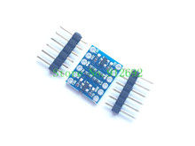 Buy 5PCS 2 Channel IIC I2C Logic Level Converter Bi-Directional Module 5V 3.3V arduino for $1.28 in AliExpress store