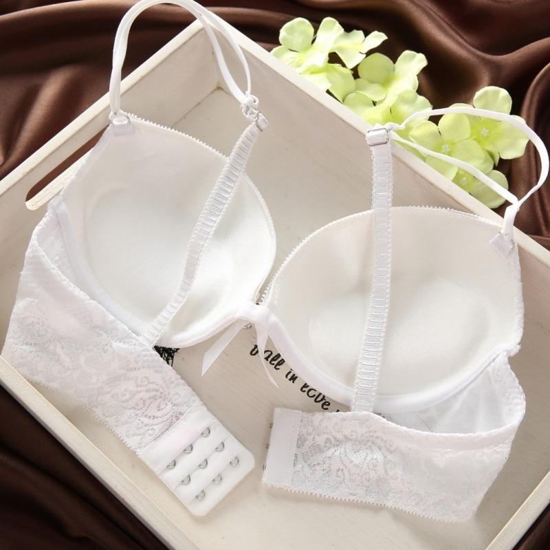 Solid Sexy Lingerie | Women Underwear Lace Bra Set 12