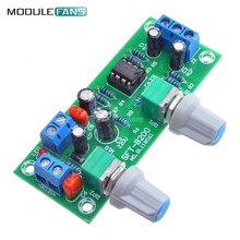 New DC 12V-24V Low-pass Filter NE5532 Subwoofer Process Pre-Amplifier Preamp Board Electric Circuit Integrated Circuits