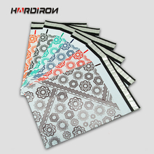 HARD IRON 6 colors PE Mailing Self-seal Envelopes Poly Mailer Bag Pink Green Red Yellow Blue White Purple Express Resistant(China)