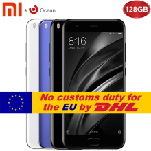 "Original Xiaomi Mi 6 Mi6 Mobile Phone 6GB RAM 128GB Snapdragon 835 Octa Core 5.15"" 12MP 1920x1080p NFC Dual Cameras Fast Charge"