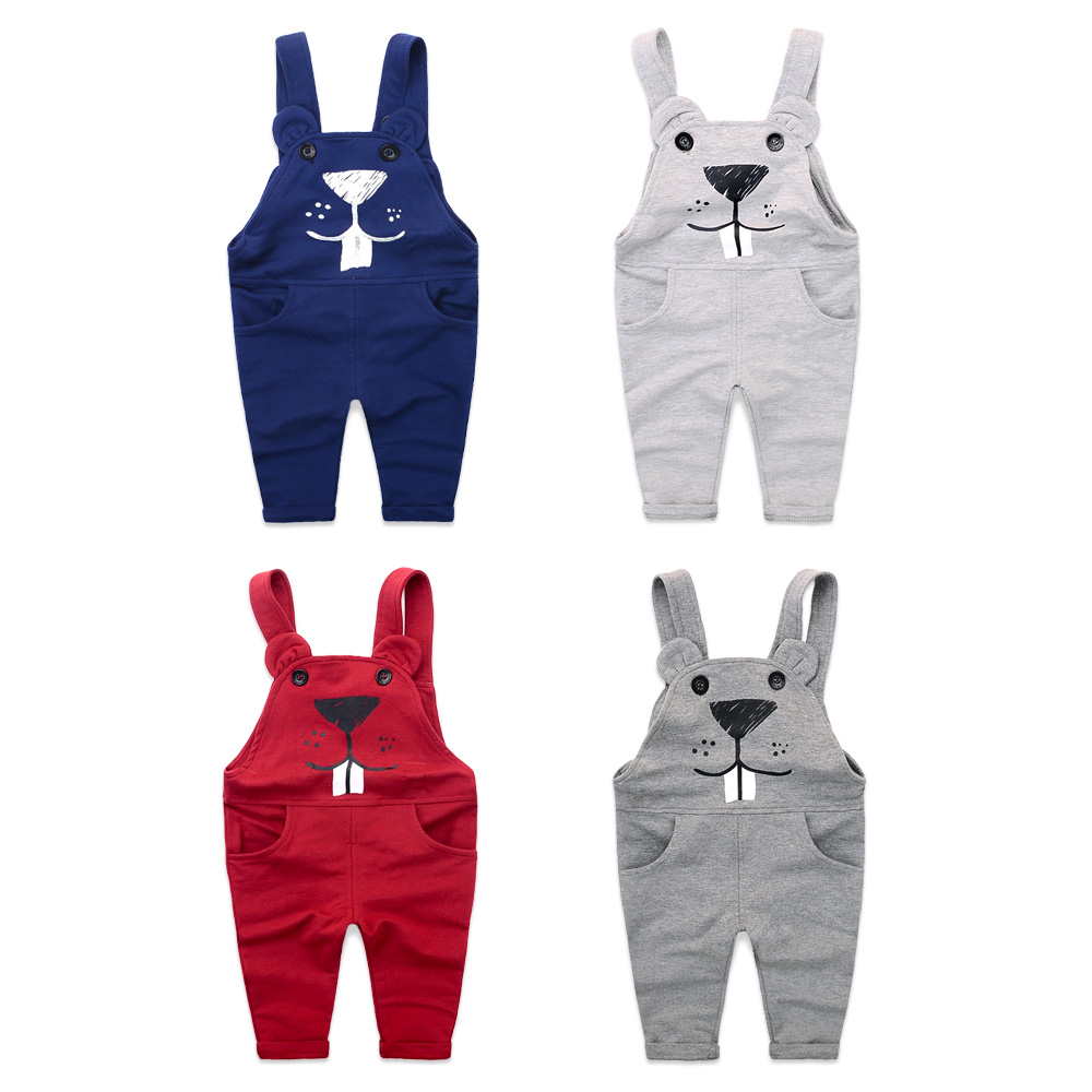 Free shipping 2017 New arrival  baby toddler PP pants boy girl knitted overalls suspender trousers cotton 2-6Y<br><br>Aliexpress