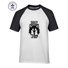 Hot sale Mix Color Fashion Casual Cool Rock&Roll Punk Be A Wolf Of Odin Than A Lamb Of God funny t shirt for men short sleeve